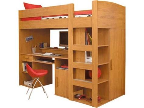 lit mezzanine et bureau lit mezzanine avec bureau et penderie meubles d 201 coration