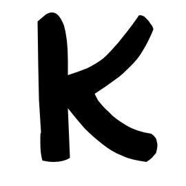 imagenes groseras hechas con letras letra k