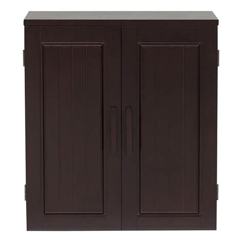 birch wood finish bathroom wall cabinet
