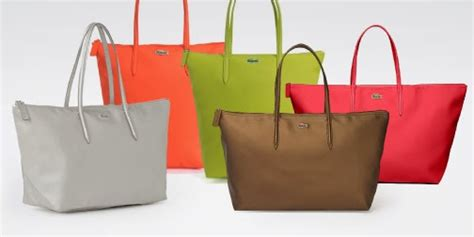 Lacoste Bag Horizontal Motif Bronze lacoste horizontal vertical tote just from rm169 discover your