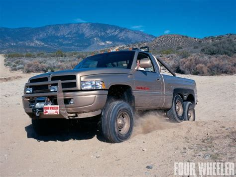 dodge 6x6 truck drive dodge ram t rex real world 6x6 with a 26 000