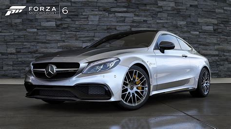 what does amg on a mercedes the forza 6 is strong in this mercedes amg c63 s coupe