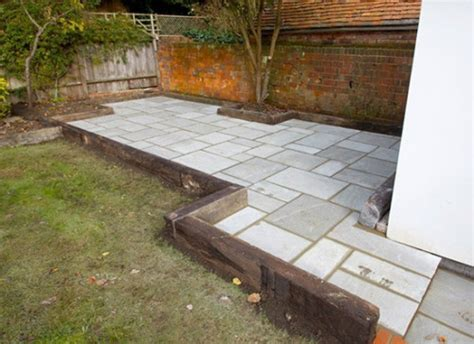 Railway Sleepers Kent by Patio Designs With Sleeper Edging 28 Images 16 Best