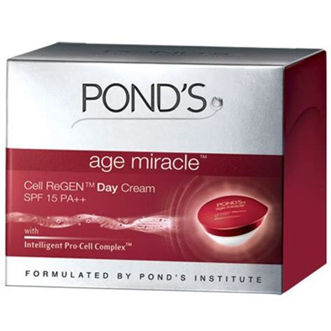 Ponds Age Miracle Day 50g Pond S Anti Aging Krim Malam 50 G Gr pond s pond s age miracle cell regen day spf15 review bulletin moisturizers