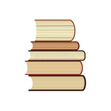 libro cinq etudes dethnologie l ic 244 ne de pile de cinq livres la biblioth 232 que d 233 tude ou le symbole plate de librairie