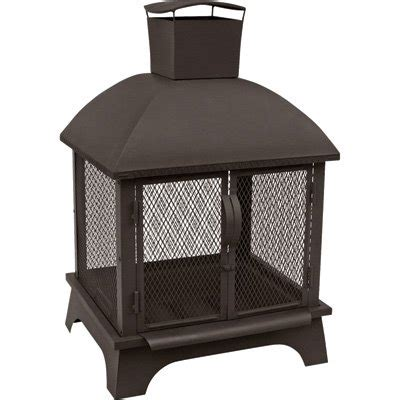 Landmann Patio Heater Landmann Redford Outdoor Fireplace Black 41 5in H Model 25722 Firepits Patio Heaters