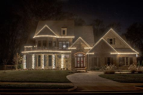 classic christmas house lights residential lighting service light up nashville lighting professionals