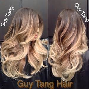ambre hair color tang ombre hair hair color creates movement and