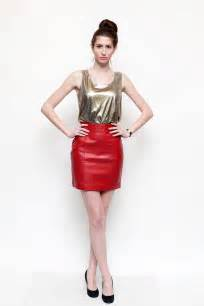 What Colors Match Black And White Leather Skirt Fashion Are Leather Skirts In Style