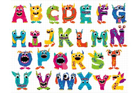 clipart alphabet pencil and in color