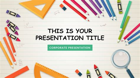 powerpoint design kindergarten kindergarten free google slides keynote theme and