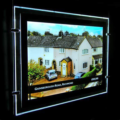 lighted window displays image 187 a4 landscape led window display single side