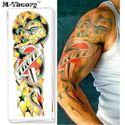 online tattoo on body online buy wholesale full sleeve tattoo from china full