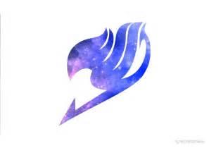 Wall Word Art Stickers quot galaxy fairy tail logo design quot by lynettekoneko redbubble