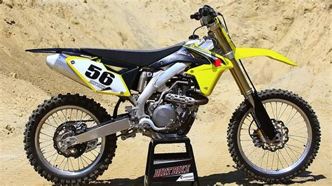 suzuki motocross bikes 2016 suzuki rmz 450 the 16s dirt bike magazine