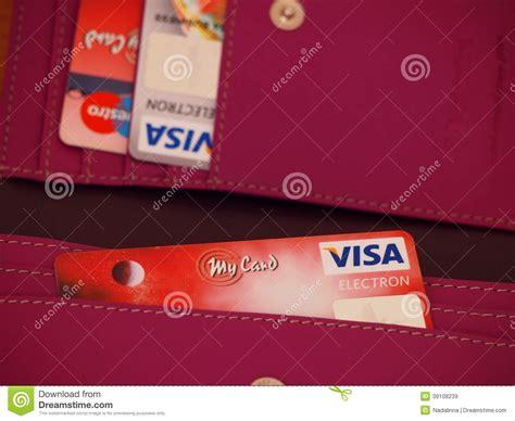 Buy International Visa Gift Card Online - visa debit card editorial stock image image 39108239