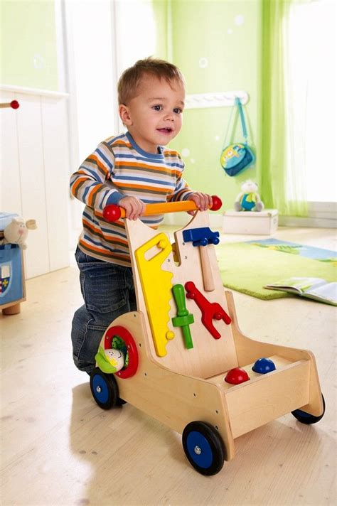 Baby Walker Ride On To Walk wooden walker for a 1 year who is starting to
