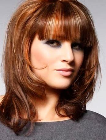 layer cut hair style for square face medium hairstyles for square faces