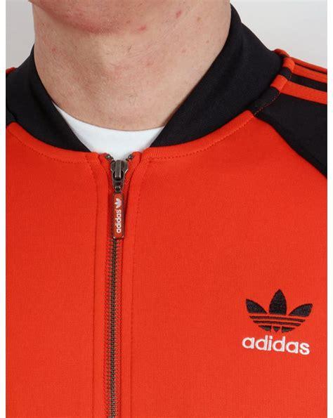 Adidas Orange Black adidas originals superstar track top orange black jacket