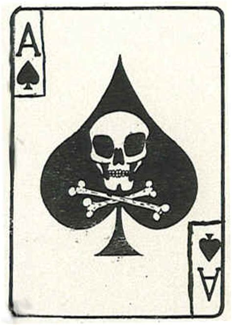 death cards psychological operations