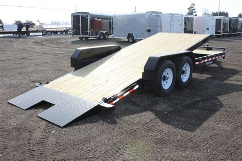 tilt bed trailers 2016 sure trac 7x22 tilt bed equipment trailer for sale