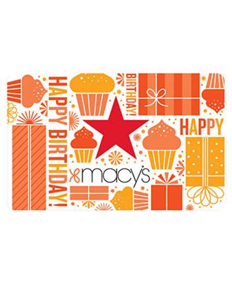 E Gift Cards Macy S - macy s birthday e gift card gift cards macy s