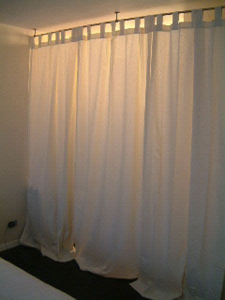 temporary curtain rods temporary wall curtain rods and white curtains on pinterest