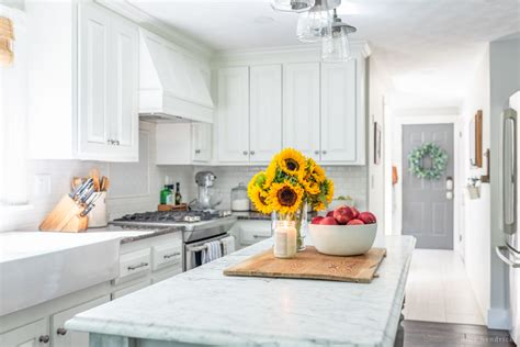simple early fall kitchen decorating ideas hendrick
