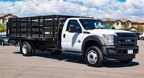 stake bed 2016 ford f 550 16 stakebed with maxon liftgate