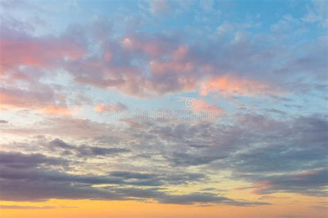 what is the real color of the sky real background of majestic sky stock photo