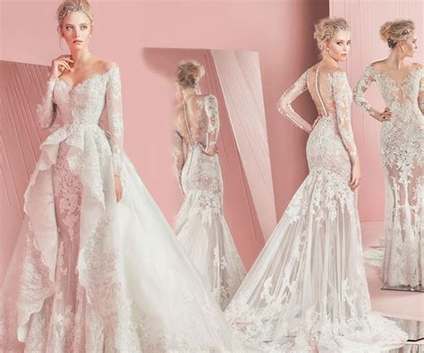 bridal dresses 2016 by zuhair murad youtube zuhair murad spring 2016 bridal collection fashionisers