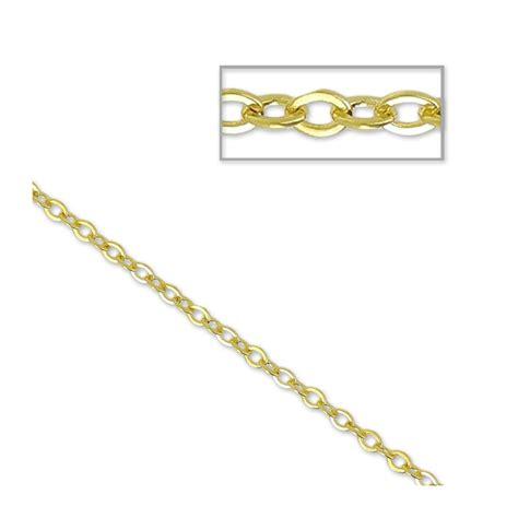 libreria europa maglie catena maglia ovale 2 2 mm dorato x 1m perles co