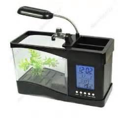 aquarium led len aquarium led avec reveil et calendrier achat