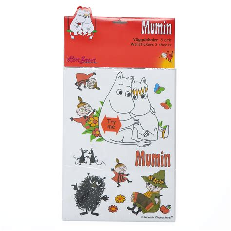 moomin wall stickers muminboden the shop for you hwo moomin moomin wallstickers 3 pieces