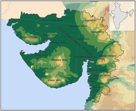 Gujarat Search Geography Of Gujarat