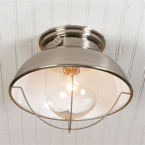 Nantucket Ceiling Light Nantucket Ceiling Light Available In 3 Colors Antique Copper Matte Black Brushed Stainless