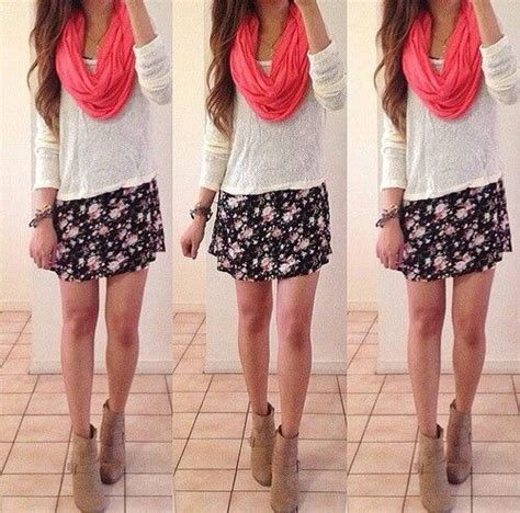 cute floral skirt outfits for teens cute floral skirt outfit ѕυммєя 162 ℓσѕєт pinterest