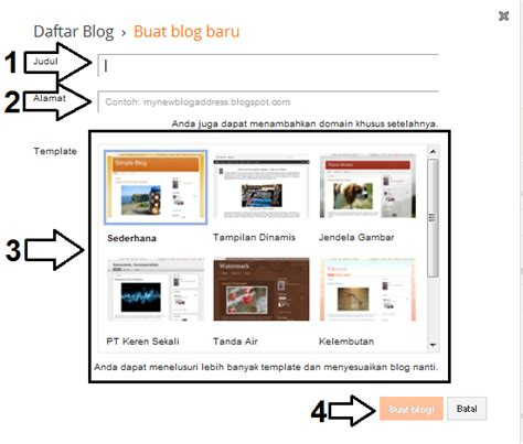 cara membuat artikel pos baru di blog yang benar buatify royi aidiltra cara membuat blog gratis di blogger terbaru