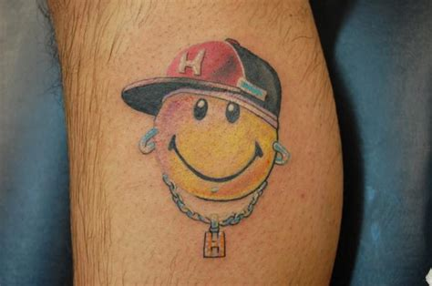 smiley face tattoo smiley tattoos designs idea and meanings tattoos
