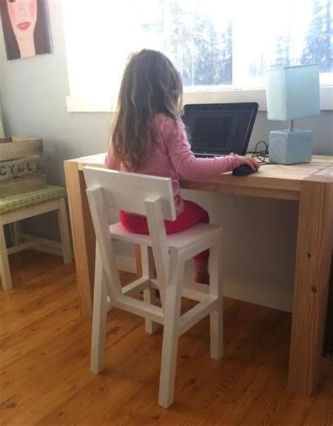 Kid Desk Furniture 42 Best Child S Chair Plans Images On Children S Child Chair And Woodworking Projects