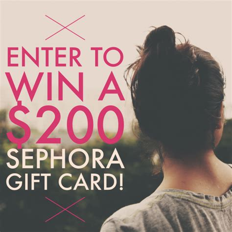 Sephora Giveaway 2016 - 200 sephora gift card giveaway ends 2 9 mommies with cents