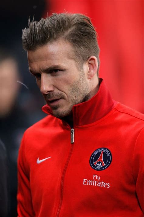 Germain Men Hairstyle | david beckham images feb 24th paris paris saint