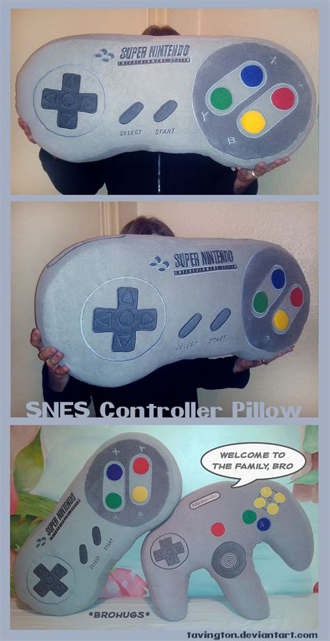 snes controller pillow snuz controller