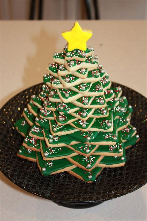 how to make cookie christmas tree cake for kids cookie tree preciousmoments lovely homebake 3d tree cookie