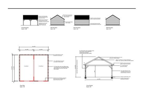 double garage plans planning building regulation drawings double garage