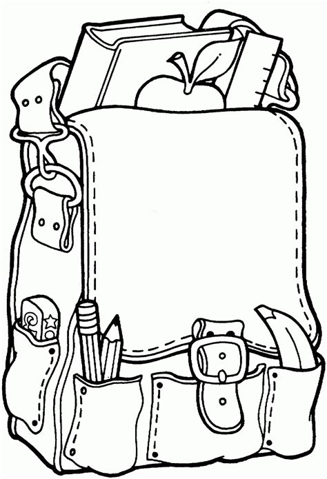 coloring page school back to school coloring pages 2011
