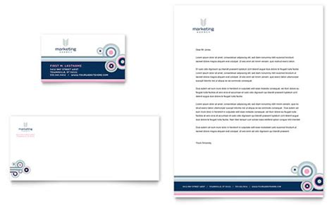 Official Agency Letterhead Marketing Agency Letterhead Templates Word Publisher