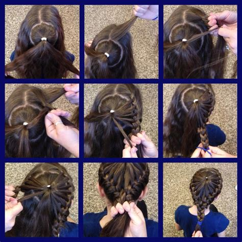 diy hairstyles we heart it wonderful diy braided heart hairstyle