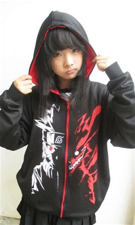 Sweater Anime Kyubi Reglan characters jackets and hoodie jacket on