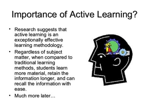 Active Learning active learning for students